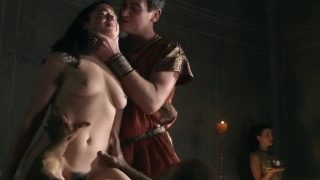 Jessica Grace Smith fucked hard in Spartacus